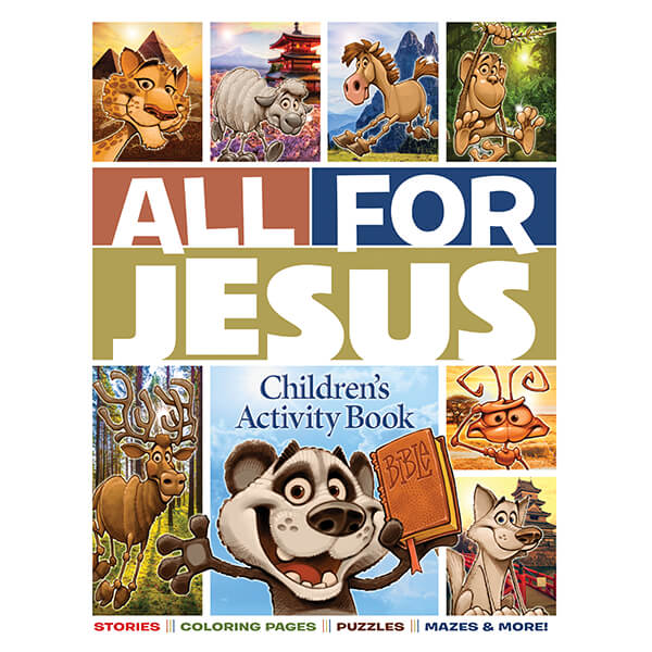 All for Jesus Children's Activity Book