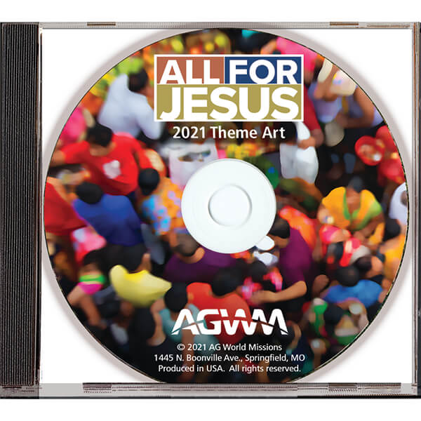 All for Jesus Theme Art