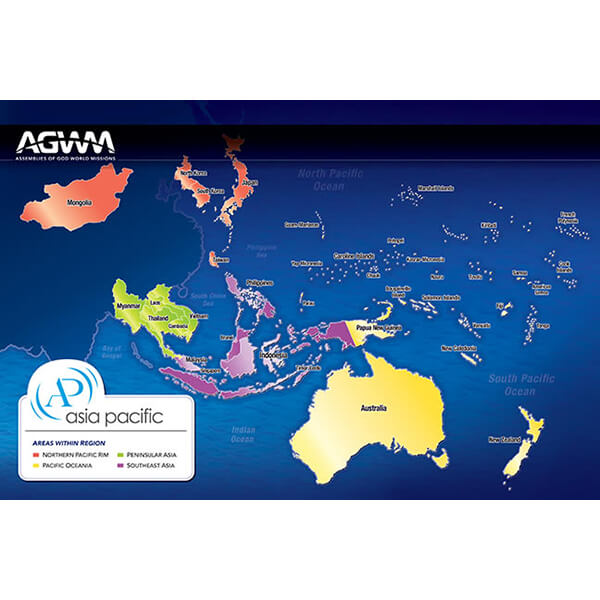 Asia Pacific Prayer Map