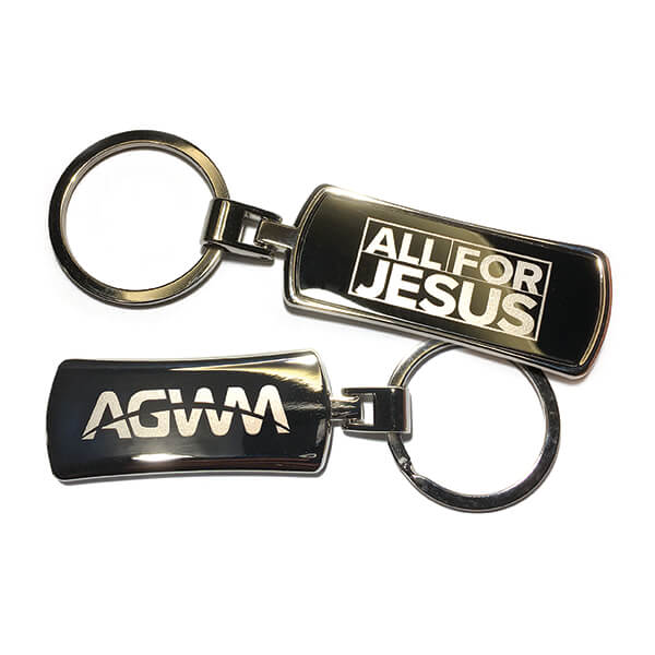 All For Jesus AGWM Key Ring
