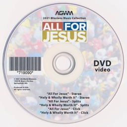 [719090] All for Jesus Music Video & Performance DVD