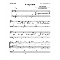 "[718682] ""Compelled"" Lead Sheet (Music Book)"
