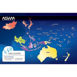 [712039] Asia Pacific Prayer Map