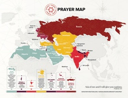 [718402] Eurasia Prayer Map