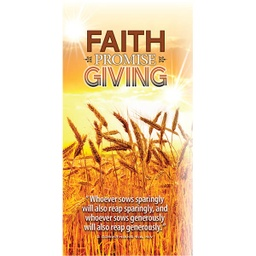 [717704] English Faith Promise Brochure Pkg 25